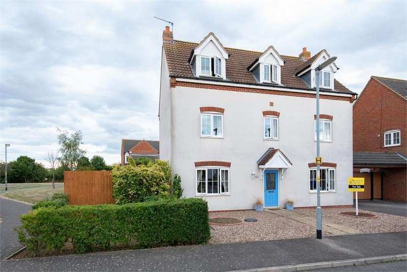 5 Bedrooms Detached House for sale in Monarchs Road, Sutterton, Boston, Lincolnshire