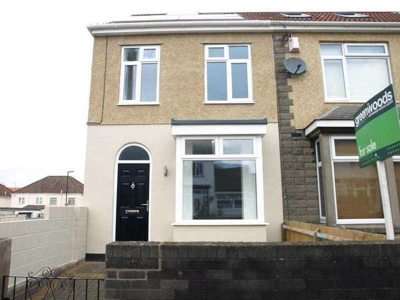 3 Bedrooms End Of Terrace House for sale in Bloomfield Road, Brislington, Bristol