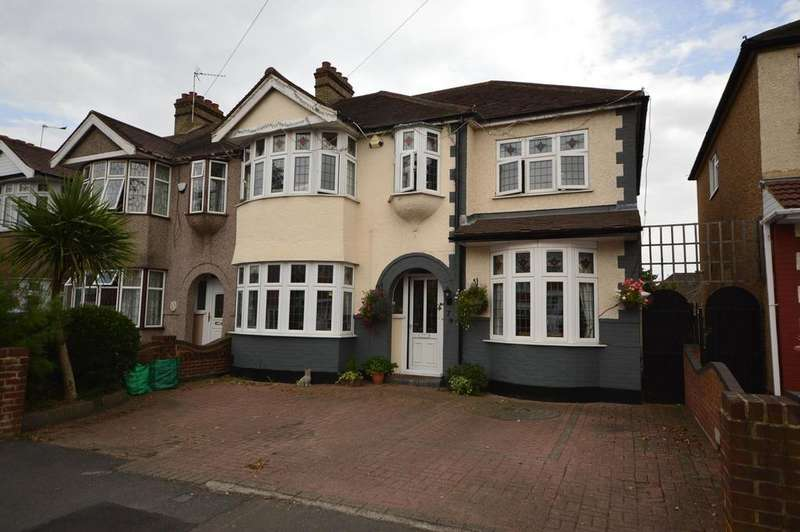 4 Bedrooms Semi Detached House for sale in Havering Gardens, Romford, RM6
