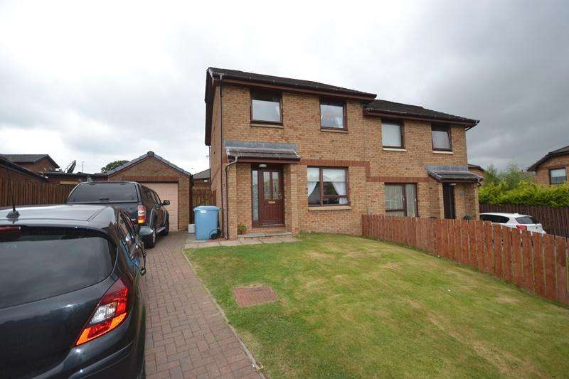 3 Bedrooms Semi Detached House for sale in 2 The Famhouses South Barrwood Road, Kilsyth G65