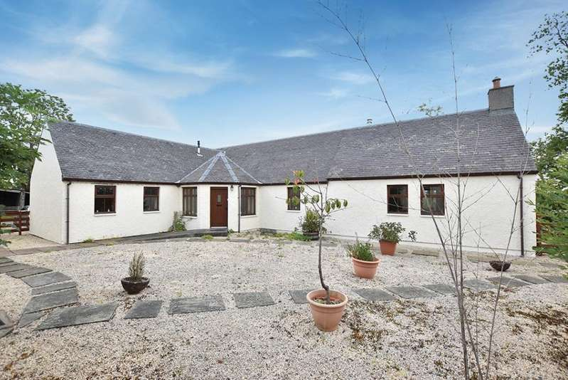 3 Bedrooms Detached Bungalow for sale in Merkland Cottage Merkland Steading, Sorn, KA5 6JF