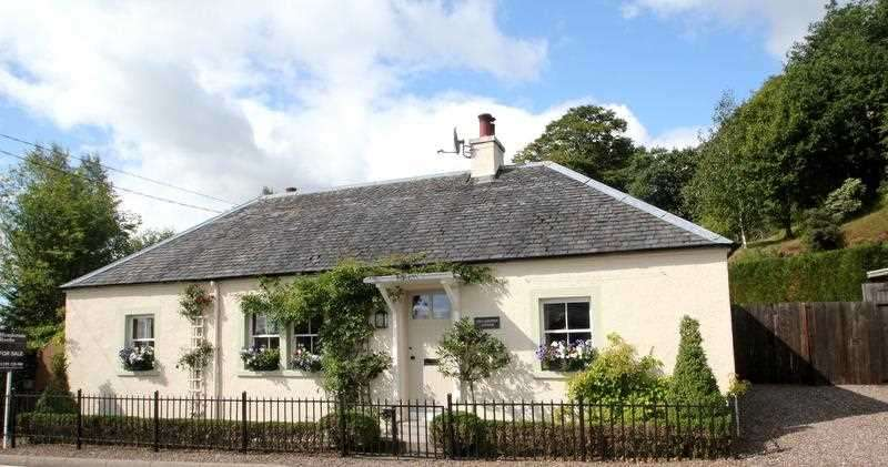 3 Bedrooms Detached House for sale in Toll Keepers Cottage, Yetts of Muckhart