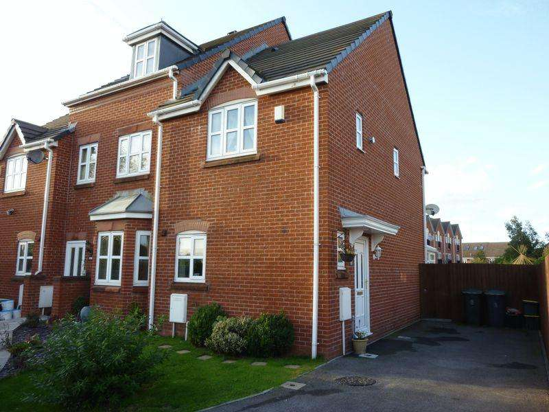 2 Bedrooms Semi Detached House for sale in Foss Court, Morecambe