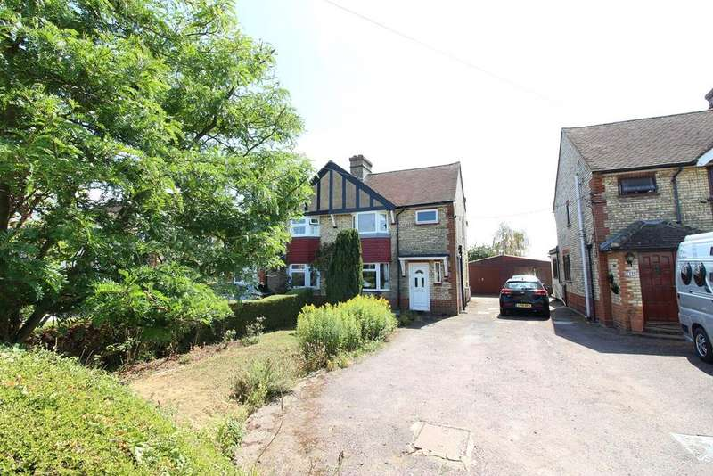3 Bedrooms Semi Detached House for sale in Station Road, Lower Stondon, SG16