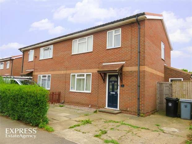 3 Bedrooms Semi Detached House for sale in Elliot Close, Grantham, Lincolnshire
