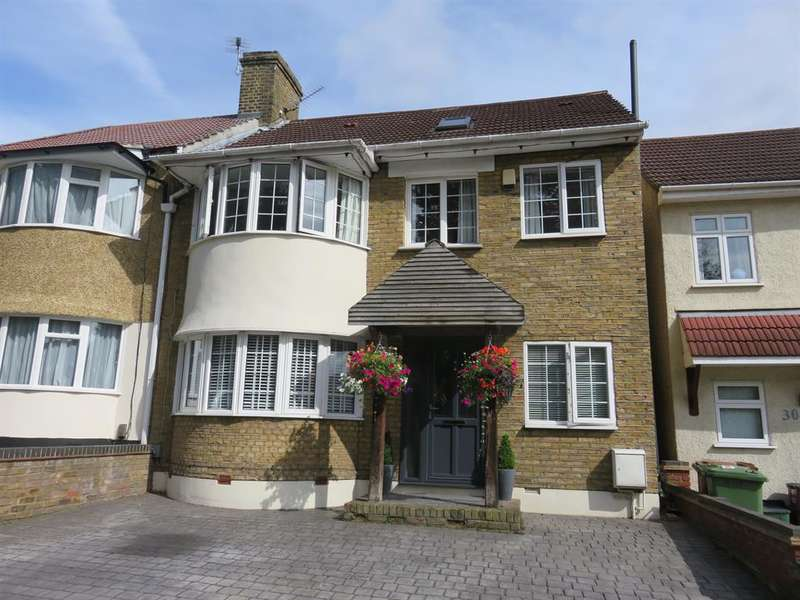 5 Bedrooms Semi Detached House for sale in Lodge Hill, Welling, Kent DA16 1BW