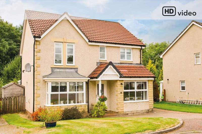 5 Bedrooms Detached House for sale in Montgomery Crescent, Dunblane, Stirling, FK15 9FB