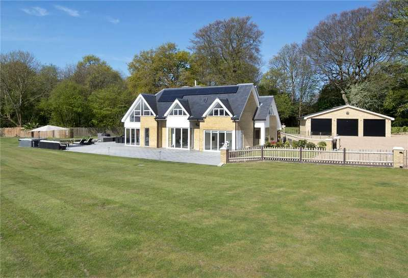 5 Bedrooms Detached House for sale in Hosey Common Road, Crockham Hill, Edenbridge, Kent, TN8