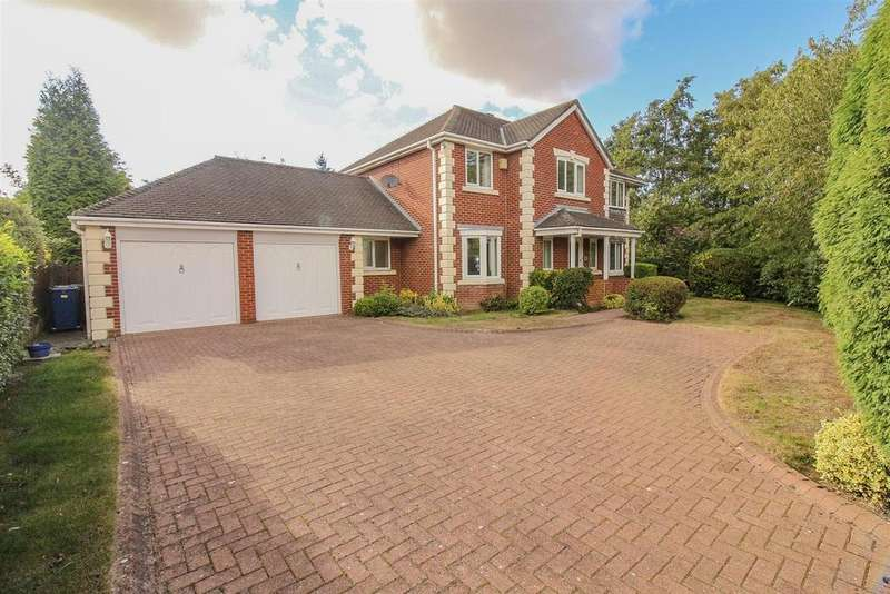 5 Bedrooms Detached House for sale in Charleswood, Newcastle Upon Tyne