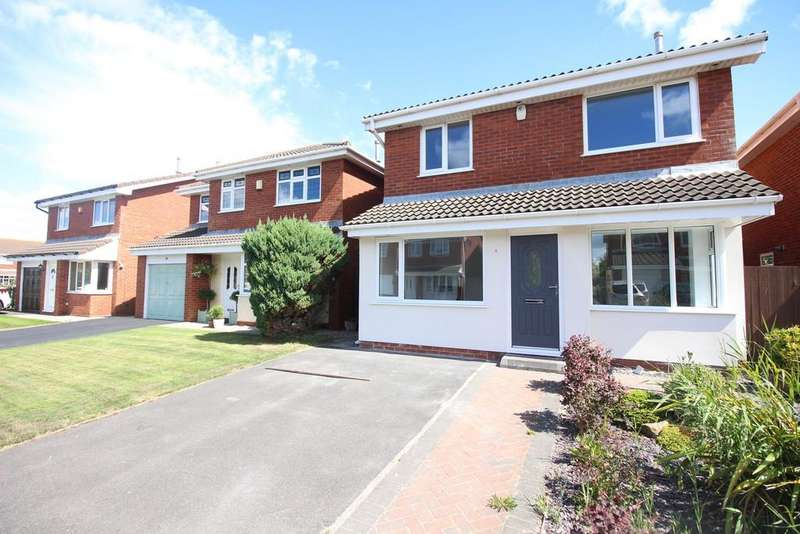 4 Bedrooms Detached House for sale in Mariners Close, Fleetwood