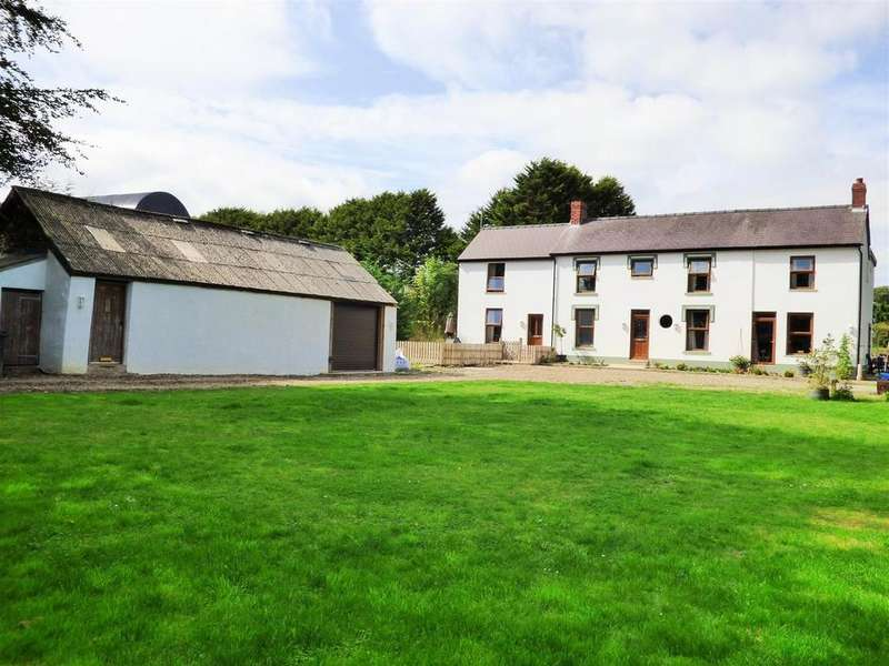 7 Bedrooms Smallholding Commercial for sale in Blaenycoed Road, Bryn Iwan
