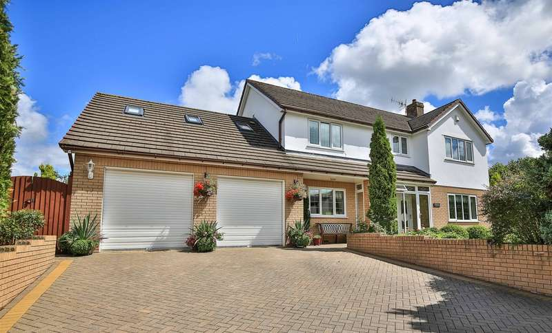 4 Bedrooms Detached House for sale in Gellideg Lane, Maesycwmmer, Hengoed