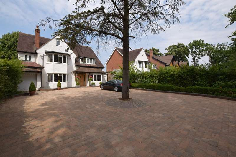 4 Bedrooms Detached House for sale in St. Bernards Road, Solihull, B92 7DH