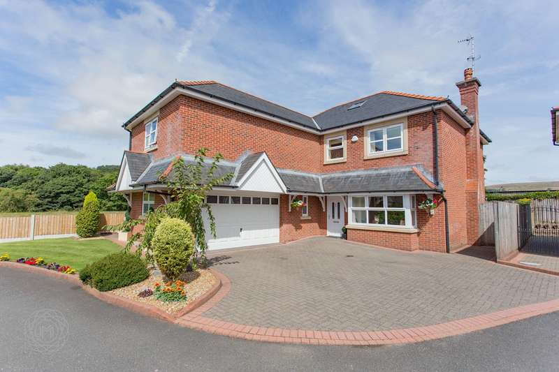 5 Bedrooms Detached House for sale in Hawkshaw Close, Hawkshaw, Bury, BL8