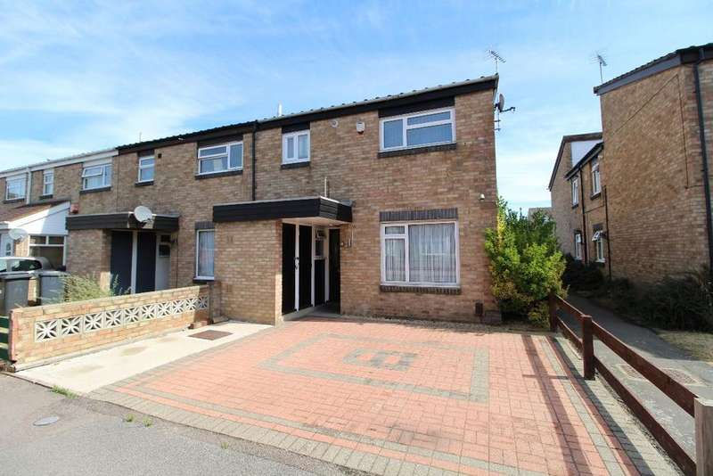 3 Bedrooms End Of Terrace House for sale in Farrer Street, Kempston MK42