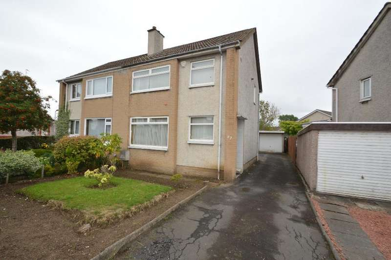 3 Bedrooms Semi Detached House for sale in Mill Road, Irvine, North Ayrshire, KA12 0JW