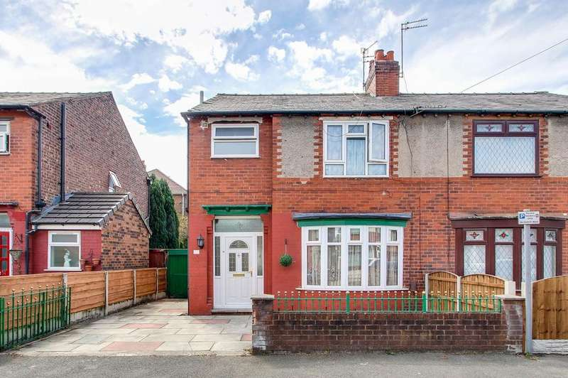 3 Bedrooms Semi Detached House for sale in Milton Road, Stretford, Manchester, M32
