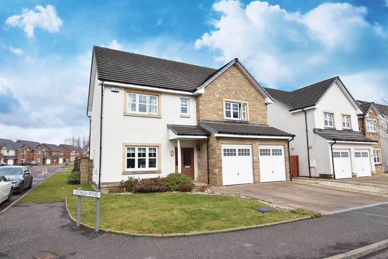 4 Bedrooms Detached Villa House for sale in 7 Jean Armour Drive, Kilmarnock, KA1 2SD