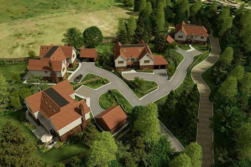 5 Bedrooms Detached House for sale in Tithepit Shaw Lane, Warlingham, Surrey CR6