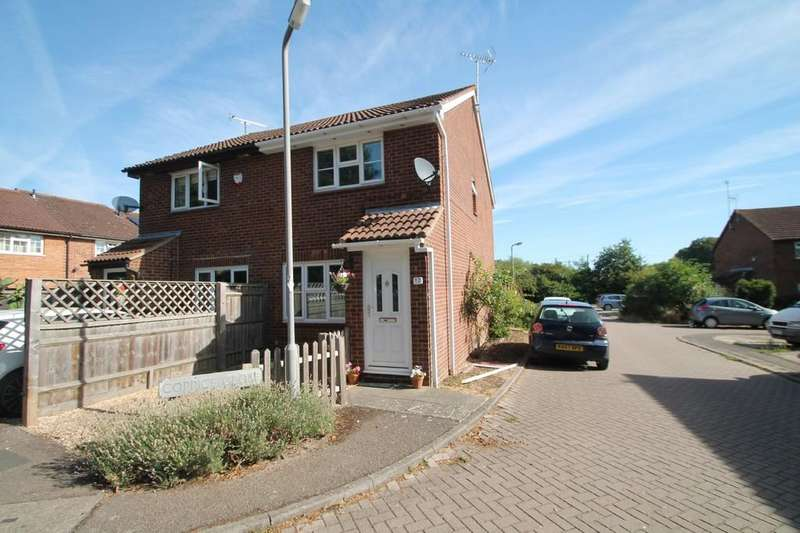 2 Bedrooms Semi Detached House for sale in Coppice, Aylesbury