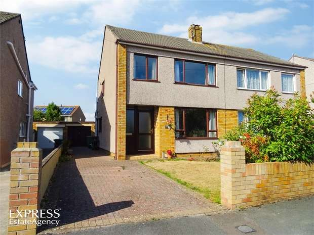 3 Bedrooms Semi Detached House for sale in Rockside Gardens, Frampton Cotterell, Bristol, Gloucestershire