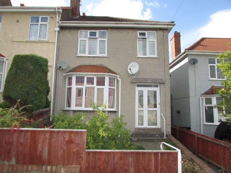 3 Bedrooms End Of Terrace House for sale in 11 Buller Road, Knowle, Bristol