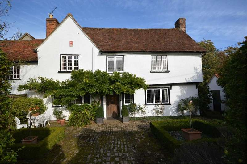 4 Bedrooms Semi Detached House for sale in Cherry Street, Duton Hill, Great Dunmow, Essex, CM6