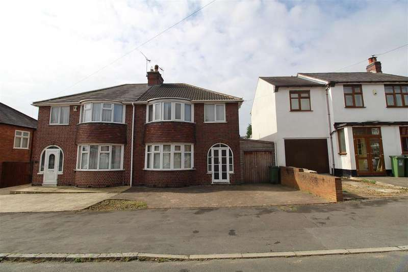 3 Bedrooms Semi Detached House for sale in Kirkland Road, Leicester