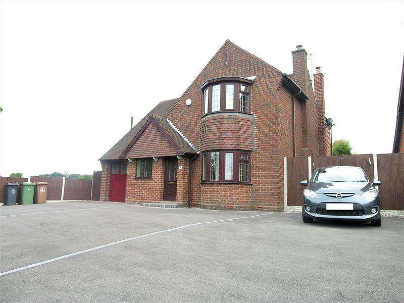 4 Bedrooms Detached House for sale in Longwood Lane, Walsall