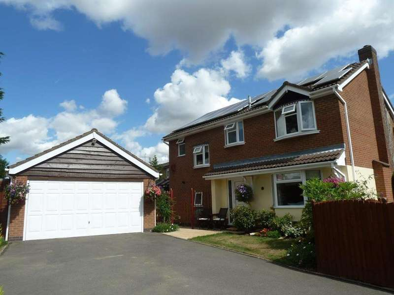 4 Bedrooms Detached House for sale in Sycamore Close, Melton Mowbray