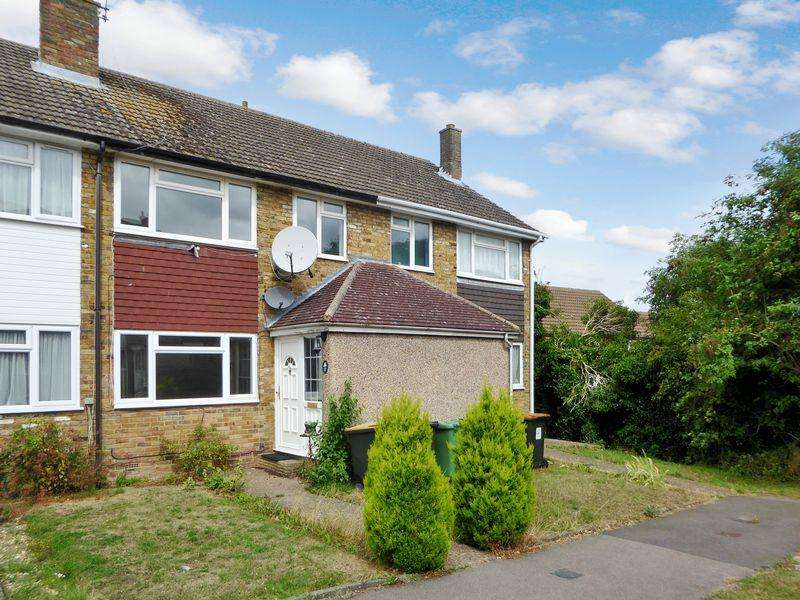3 Bedrooms Terraced House for sale in Grovebury Close, Dunstable