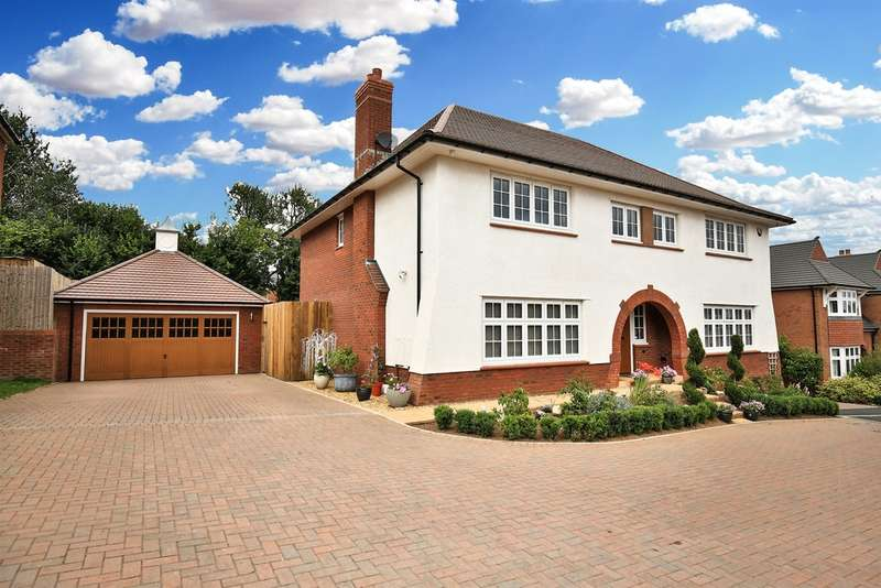 5 Bedrooms Detached House for sale in Dderwen Deg, St Denys Gate, Cefn Mably Road, Lisvane, Cardiff