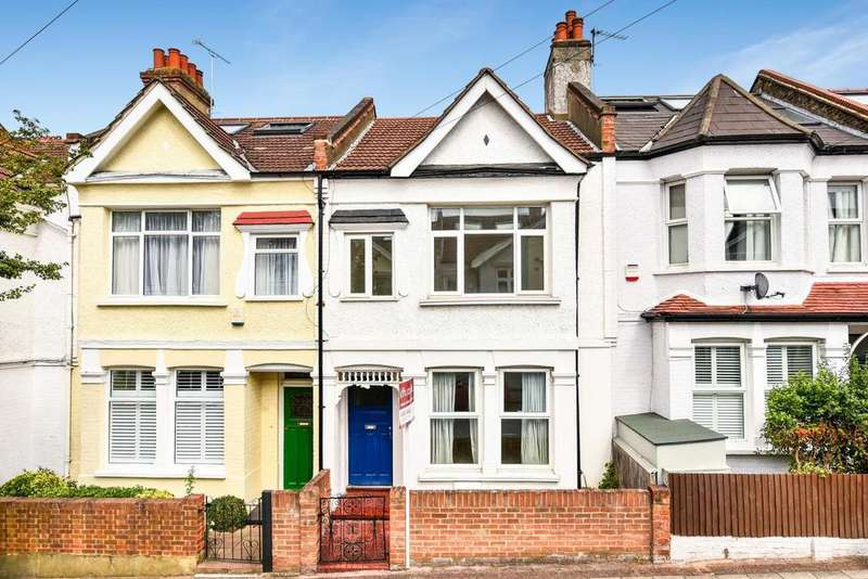 3 Bedrooms Terraced House for sale in Brudenell Road, Tooting