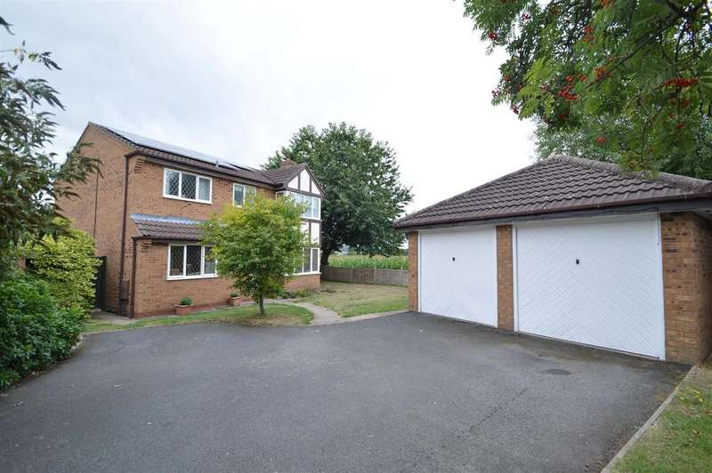 4 Bedrooms Detached House for sale in 22 Sedgeford Drive, Shrewsbury SY2 5NS