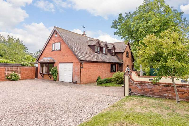 4 Bedrooms Detached House for sale in Alcester Road, Kington, Worcester, Worcestershire