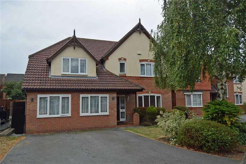 4 Bedrooms Detached House for sale in Duncombe Road, Heathley Park