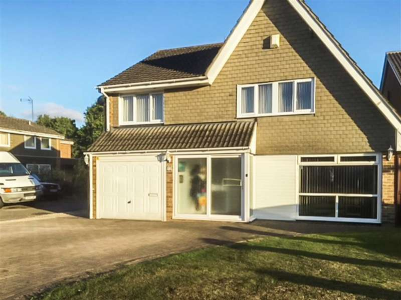 5 Bedrooms Detached House for sale in Fairlawn, Liden, Swindon