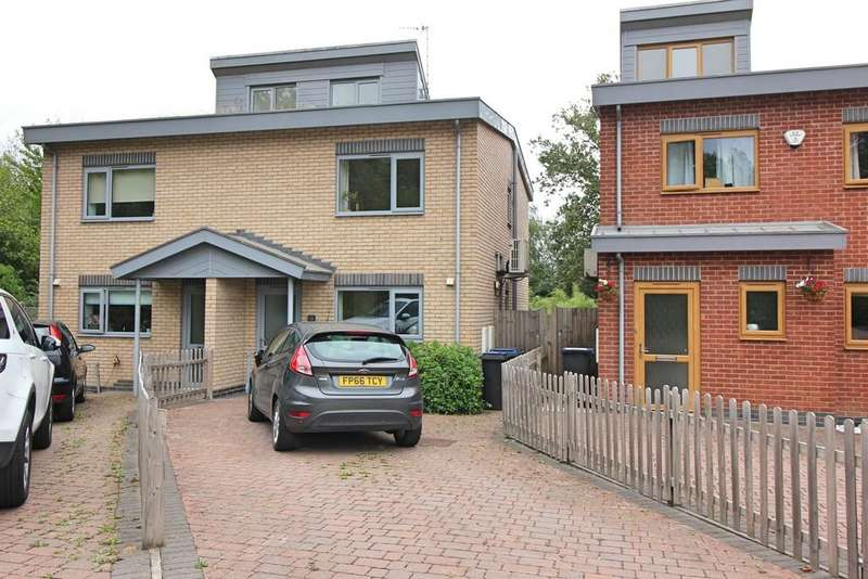 2 Bedrooms Semi Detached House for sale in Wagtail Close, Ratby, Leicester