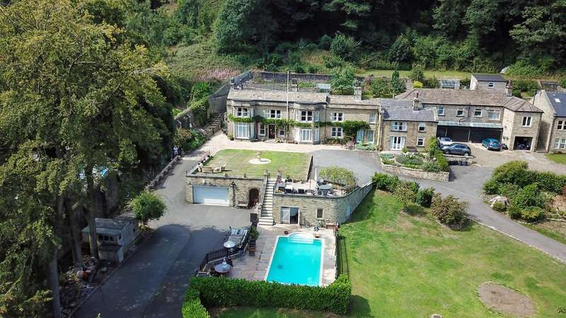 7 Bedrooms Unique Property for sale in Rycliffe House, 156 Halifax Road, Ripponden, HX6 4AH