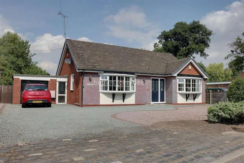 3 Bedrooms Bungalow for sale in Middlewich Road, Bradfield Green