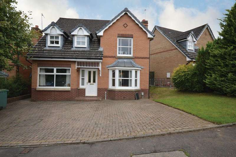 4 Bedrooms Detached House for sale in 187 Briarcroft Drive, Robroyston, Glasgow G33 1RJ