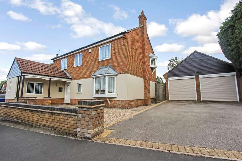 4 Bedrooms Detached House for sale in The Oasis, Glenfield, Leicester, LE3