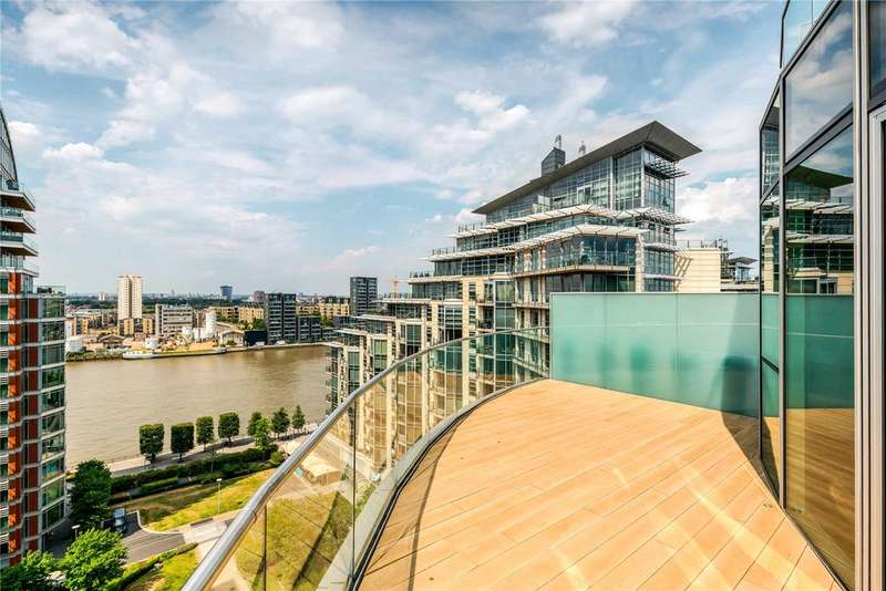 3 Bedrooms Flat for sale in Pinnacle House, Battersea Reach, Juniper Drive, London, SW18