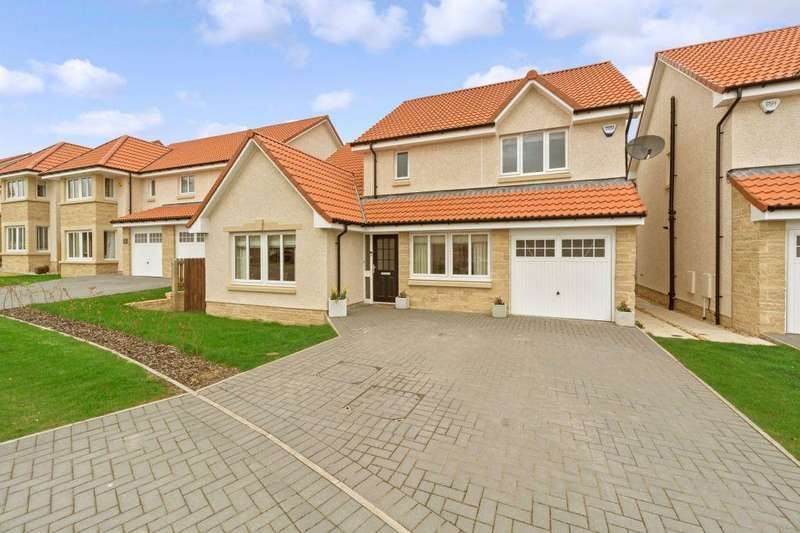 4 Bedrooms Detached House for sale in 15 Castell Maynes Crescent, Bonnyrigg EH19 3RU