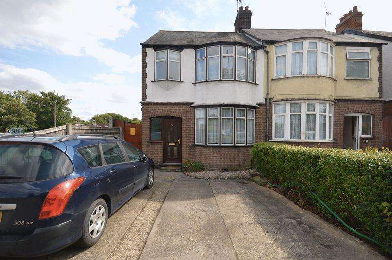 3 Bedrooms Semi Detached House for sale in Dunstable Road, Luton