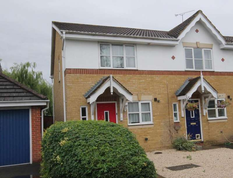 2 Bedrooms Semi Detached House for sale in Richmond Close, Farnborough