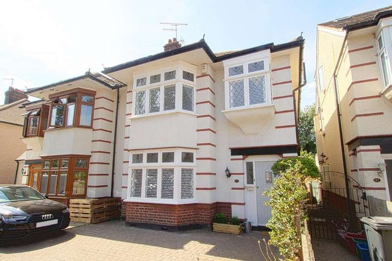 4 Bedrooms Semi Detached House for sale in Boston Gardens, Brentford, TW8