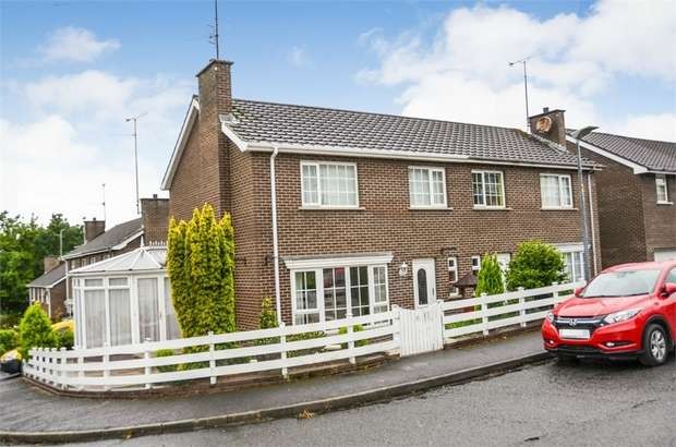 3 Bedrooms Semi Detached House for sale in Kensington Park, Portadown, Craigavon, County Armagh