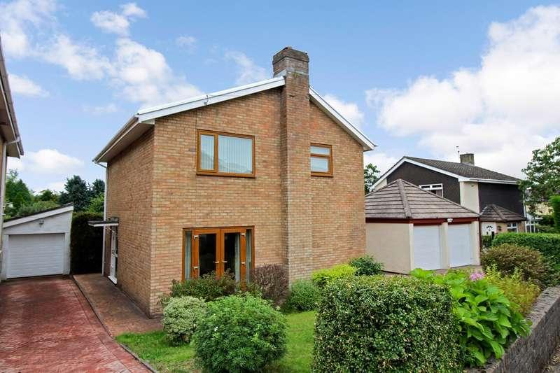 3 Bedrooms Detached House for sale in Waun Goch Road, Oakdale, Blackwood, NP12