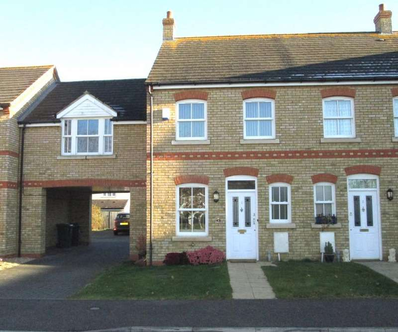 2 Bedrooms End Of Terrace House for sale in Sycamore Close, Potton SG19